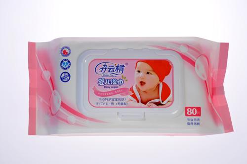 婴幼儿专用湿巾